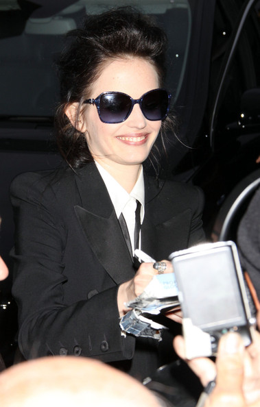 Eva Green Greets Fans in Hollywood