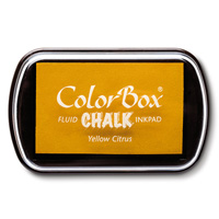 Yellow Citrus ColorBox Chalk Ink Pad by Stampin' Up!