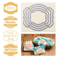 Oh My Goodies Wood-mount Bundle by Stampin' Up!