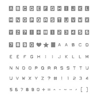 Labeler Alphabet Photopolymer Stamp Set