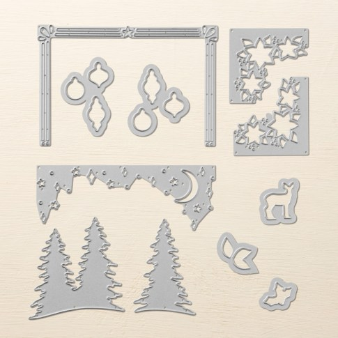 Card Front Builder Thinlit Dies from Stampin' Up!