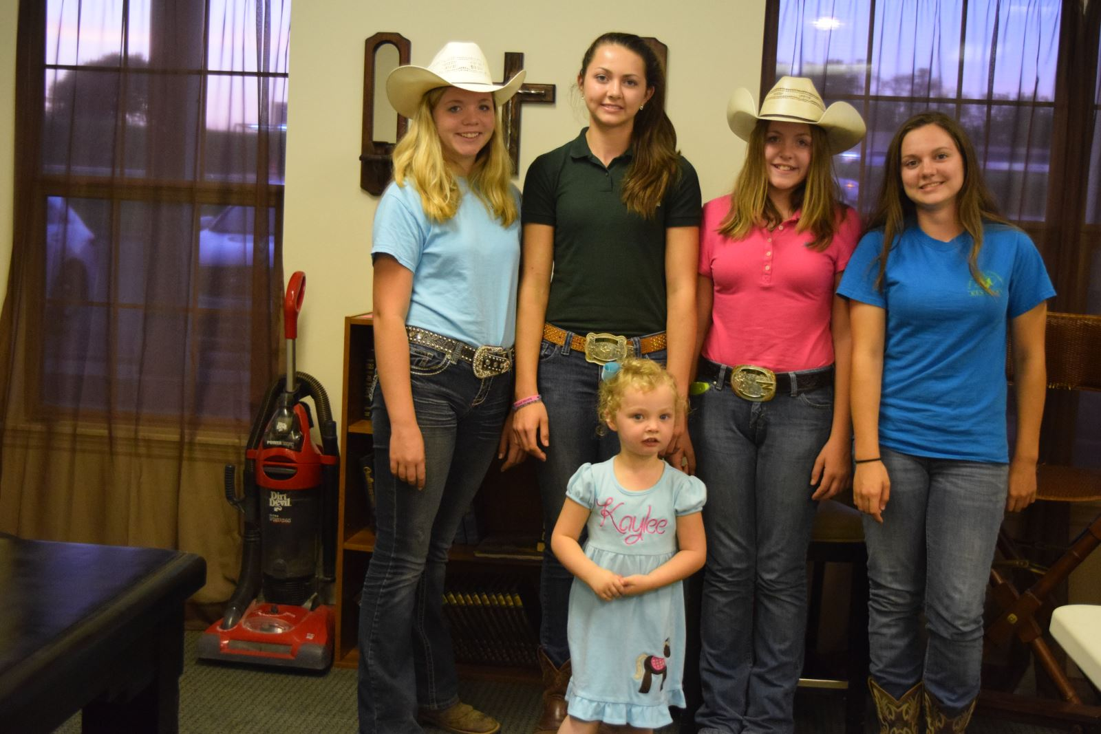 Wayne County Schools Equestrian Students Share Information At Saddle Chick Horse Meeting