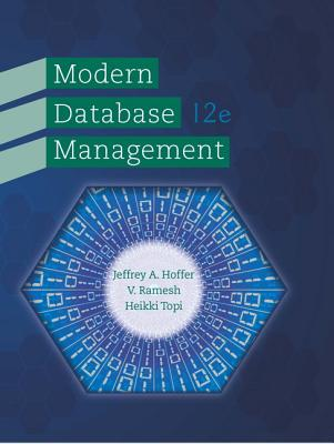 Modern Database Management Book By Jeffrey A Hoffer 13
