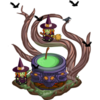 77 Buildable Witchin' Cauldron!