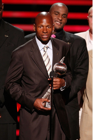 Ray Allen and the Boston Celtics accepts the award for Best Team