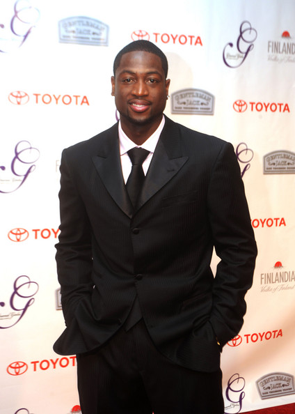 Dwayne Wade NBA's Dwayne Wade of the Miami Heat attends the 7th Annual Grand Gala following the 134th Kentucky Derby on May 3, 2008 in Louisville, Kentucky.