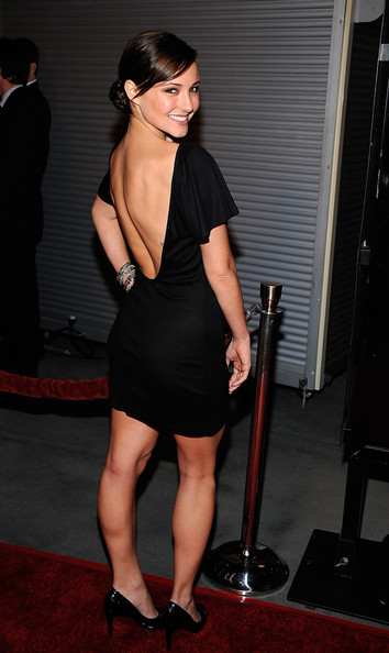 """Briana Evigan Actress Briana Evigan arrives at the Premiere of Rogue Pictures' """"The Last House On The Left"""" on March 10, 2009 at the ArcLight Cinemas Hollywood, California.  (Photo by Frazer Harrison/Getty Images) *** Local Caption *** Briana Evigan"""