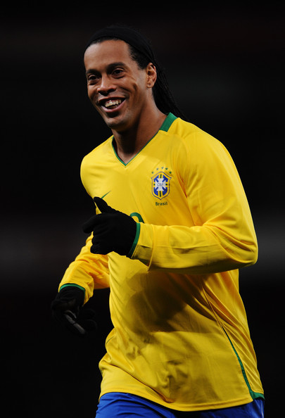 Ronaldinho Photos Photos Italy V Brazil International