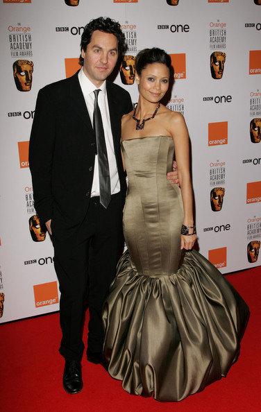 Thandie Newton and Ol Parker - Arrivals At The Orange British Academy Film Awards