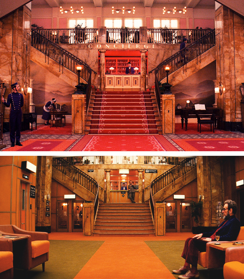 The grand budapest hotel and mari nsk l zn snobhotel for Top design hotels budapest