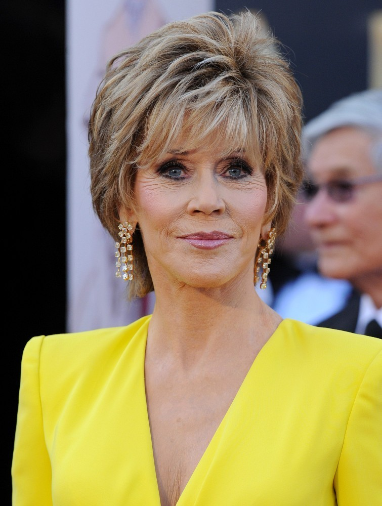 Jane Fonda Haircut 2013