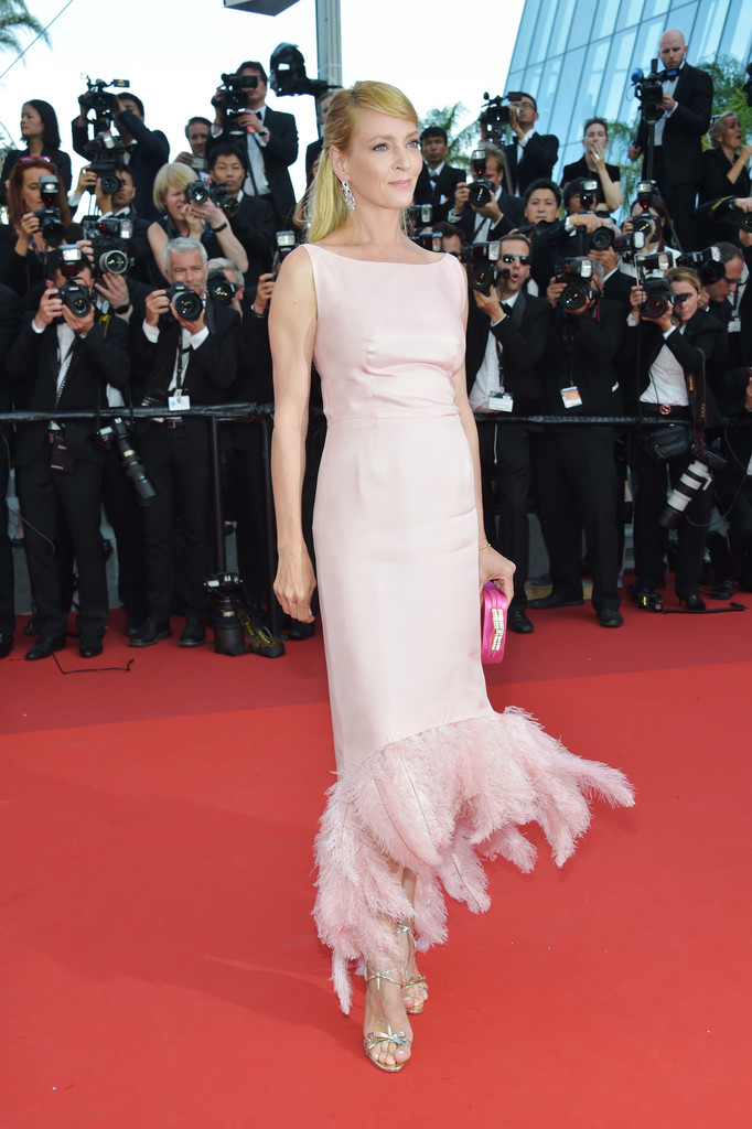 Uma Thurman The Dreamiest Dresses On The 2017 Cannes Red