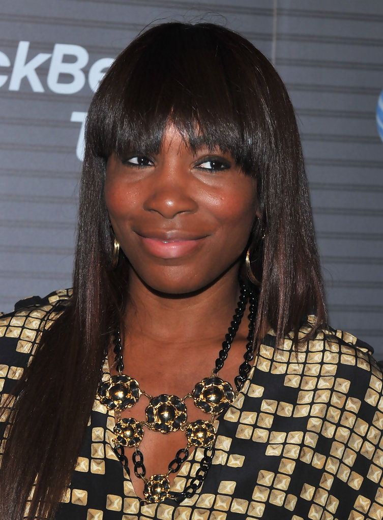 Venus Williams Celebrity Black Hair Styles Pictures