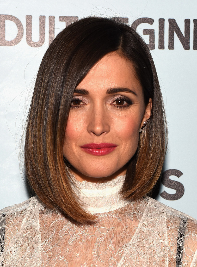 Rose Byrnes Straight Cut The Most Gorgeous Hairstyles