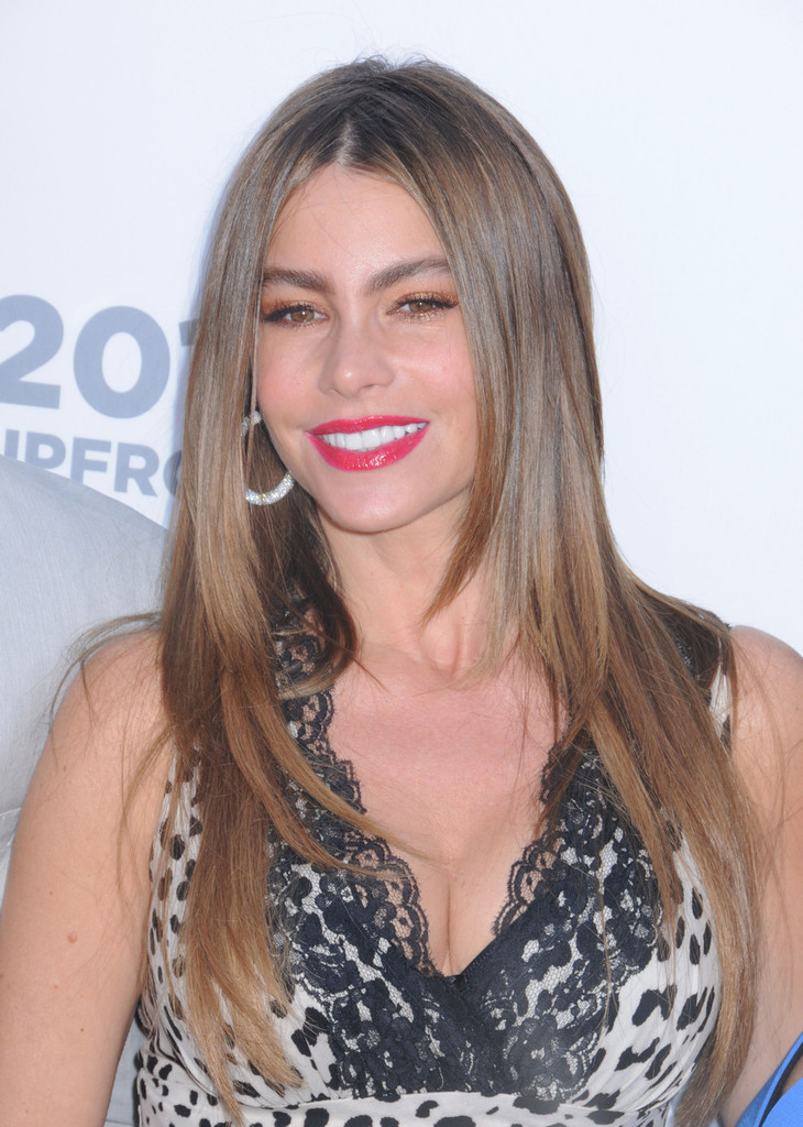 Sofia Vergara Layered Cut Sofia Vergara Hair Looks