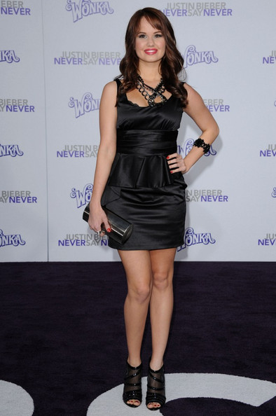 "Debby Ryan Los Angeles Premiere of ""Justin Bieber: Never Say Never"". Nokia"