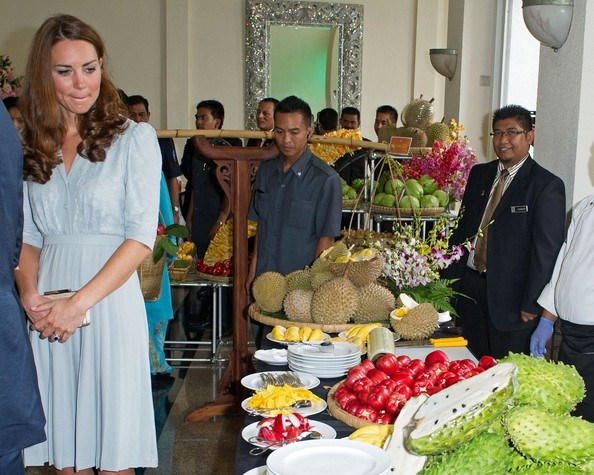 Catherine, Duchess of Cambridge and Prince William attend lunch hosted by the Malaysian Prime Minister Najib Tun Razak.