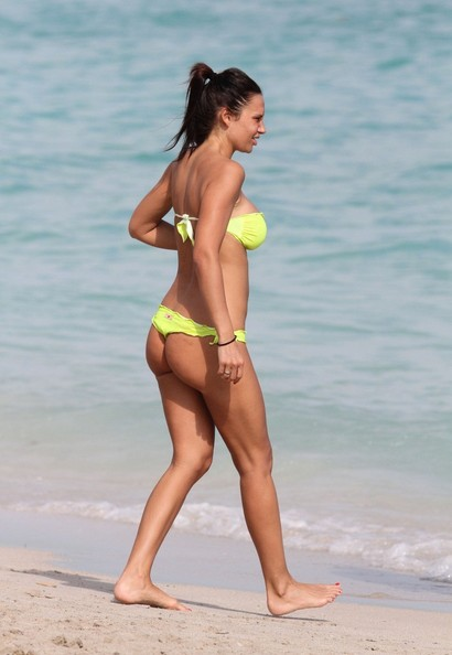 Nicole Minetti on the Beach 2