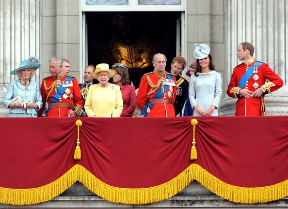Kate Middleton - 'ROYALS' At Buckingham Palace After 'Trouping The Colour' Ceremony