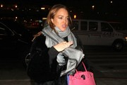 Troubled actress Lindsay Lohan departing on a flight at LAX airport in Los Angeles, California on February 5, 2015. Lindsay and her mother Dina have sued Fox News and Sean Hannity, claiming that their were smeared when someone on Sean's show claimed that Lindsay and Dina snort coke together