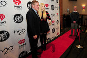 Recording artist Meghan Trainor (R) attends 101.3 KDWB's Jingle Ball 2014 presented by Sky Zone Indoor Trampoline Park and Allstate at Xcel Energy Center on December 8, 2014 in St Paul, Minnesota.