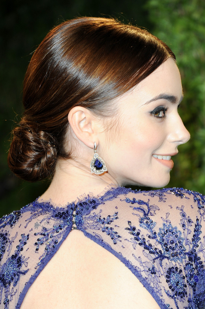 Lily Collins Photos Photos 2013 Vanity Fair Oscar Party