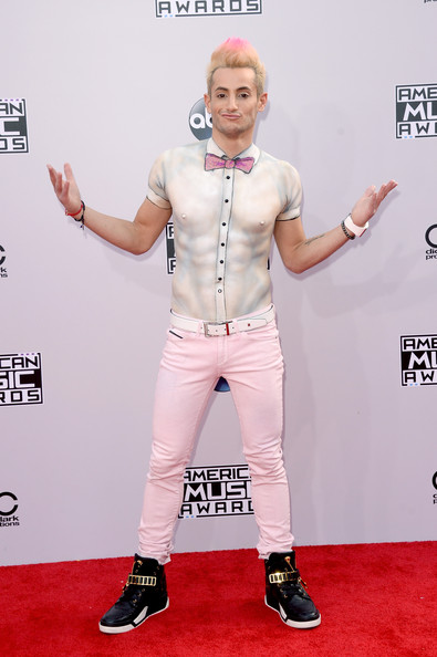 TV personality Frankie J. Grande attends the 2014 American Music Awards at Nokia Theatre L.A. Live on November 23, 2014 in Los Angeles, California.