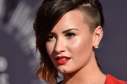 Recording artist Demi Lovato attends the 2014 MTV Video Music Awards at The Forum on August 24, 2014 in Inglewood, California.