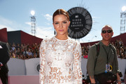 Singer Katie Stevens attends the 2014 MTV Video Music Awards at The Forum on August 24, 2014 in Inglewood, California.