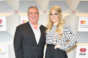 Radio personality Elvis Duran (L) and recording artist Meghan Trainor attend the 2014 iHeartRadio Music Festival at the MGM Grand Garden Arena on September 20, 2014 in Las Vegas, Nevada.