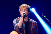 Musician Ed Sheeran performs onstage during the 2014 iHeartRadio Music Festival at the MGM Grand Garden Arena on September 20, 2014 in Las Vegas, Nevada.
