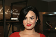Actress Demi Lovato attends the 2nd Annual unite4:humanity presented by ALCATEL ONETOUCH at the Beverly Hilton Hotel on February 19, 2015 in Los Angeles, California.