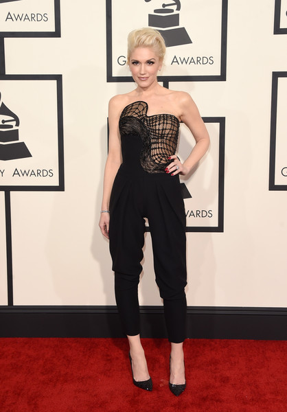 Singer Gwen Stefani attends The 57th Annual GRAMMY Awards at the STAPLES Center on February 8, 2015 in Los Angeles, California.