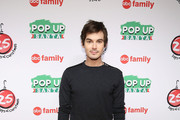 "Actor Tyler Blackburn attends ABC's ""25 Days Of Christmas"" Celebration at Cucina at Rockerfellar Center on December 7, 2014 in New York City."