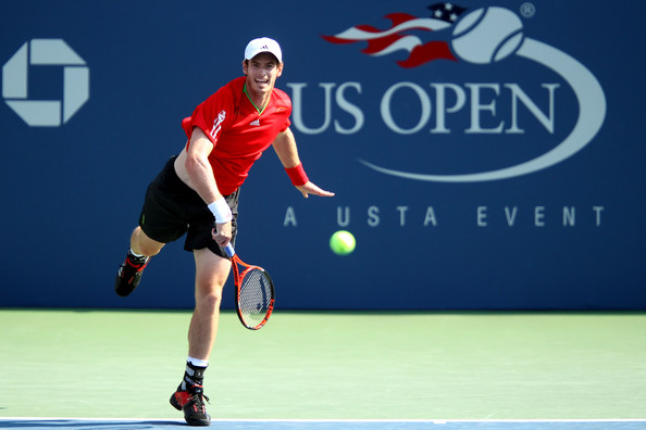 Andy Murray Andy Murray of Great Britain serves against  Robin Haase of Netherlands during Day Five of the 2011 US Open at the USTA Billie Jean King National Tennis Center on September 2, 2011 in the Flushing neighborhood of the Queens borough of New York City.