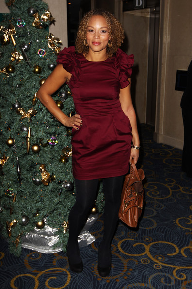 Angela Griffin (UK TABLOID NEWSPAPERS OUT) Angela Griffin attends the Women in Film and Television Awards 2010 held at the Hilton Park Lane on December 3, 2010 in London, England.