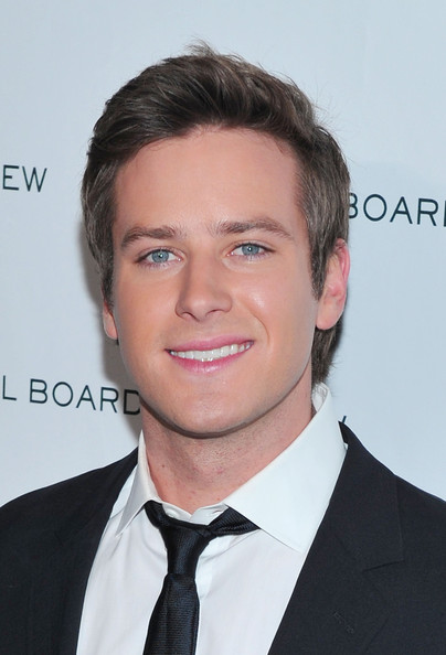 Armie Hammer - 2011 National Board of Review of Motion Pictures Gala - Outside Arrivals