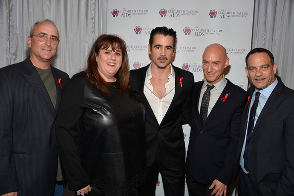 Stars at the Elizabeth Taylor AIDS Foundation Benefit