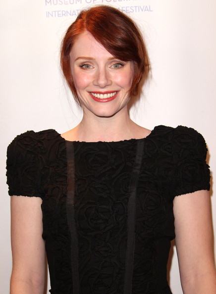 Bryce Dallas Howard Actress Bryce Dallas Howard attends the Museum of Tolerance International Film Festival Gala on November 14, 2010 in Los Angeles, California.