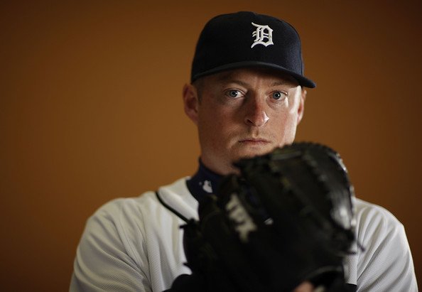 Jeremy Bonderman #38 of the Detroit Tigers poses during photo day at the Detroit Tigers Spring Training facility on February 27, 2010 in Lakeland, Florida.