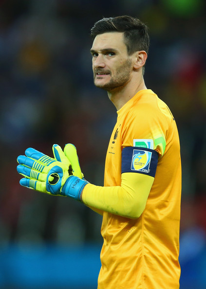 Goalkeeper Hugo Lloris of France looks on during the 2014 FIFA World Cup Brazil Group E match between France and Honduras at Estadio Beira-Rio on June 15, 2014 in Porto Alegre, Brazil.