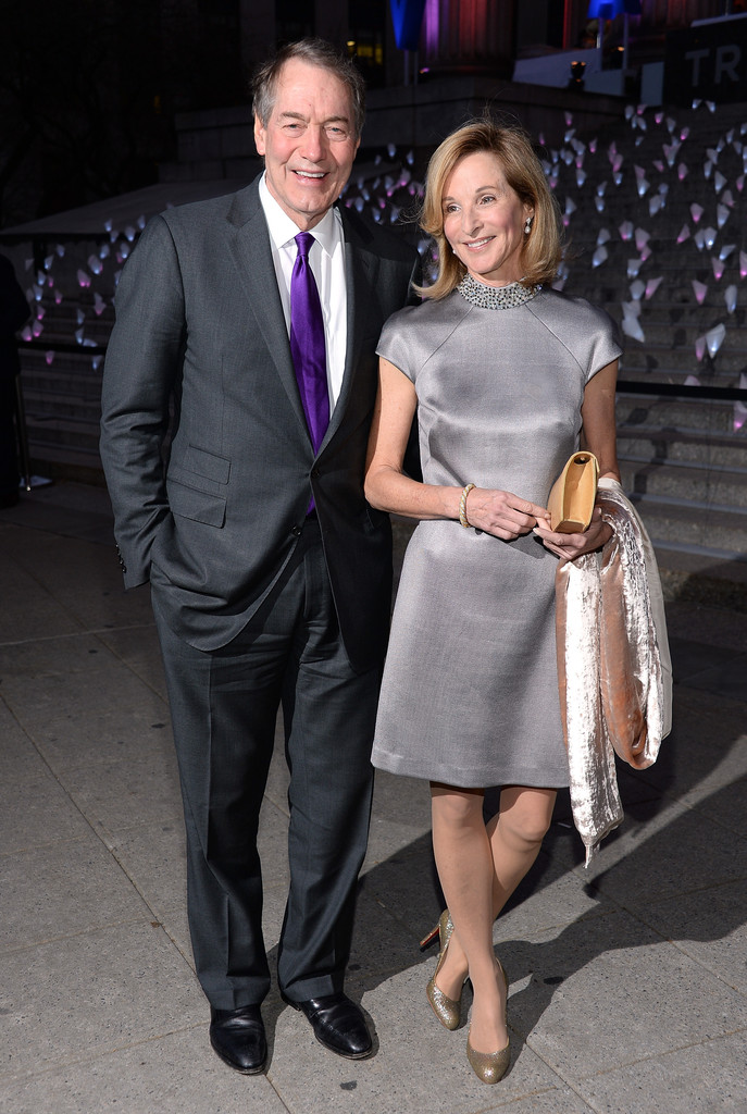 Charlie Rose And Amanda Burden Photos Photos Guests At