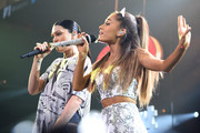 Jessie J and Ariana Grande perform onstage during HOT 99.5's Jingle Ball 2014, Presented by Mattress Warehouse at the Verizon Center on December 15, 2014 in Washington, D.C.