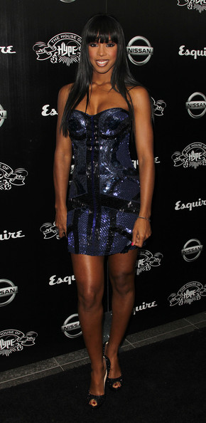 Recording artist Kelly Rowland attends the House of Hype's 2011 MTV Video Music Awards After Party at the SLS Hotel on August 28, 2011 in Los Angeles, California.
