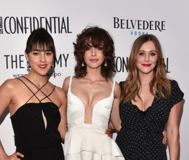Julianna Guill Cyrina Fiallo Los Angeles Confidential Celebrates Its Awards Issue Hosted By Cover Stars Alison