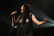 Jessie J performs onstage during KISS 108's Jingle Ball 2014, presented by Market Basket Supermarkets at TD Garden on December 14, 2014 in Boston, Massachusetts.