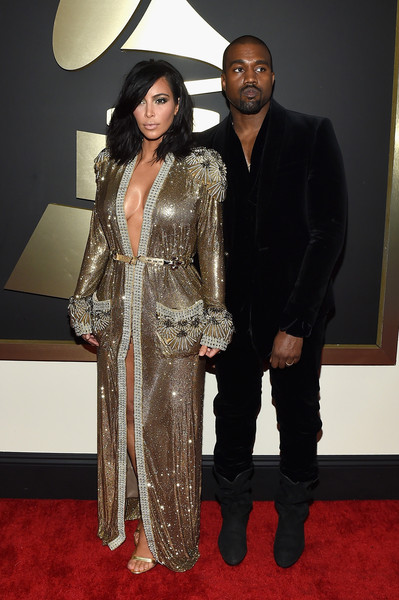 Kanye West - The 57th Annual GRAMMY Awards - Red Carpet