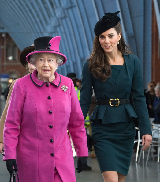 Kate Middleton - Queen Elizabeth II, Prince Philip, Duke Of Edinburgh And Catherine, Duchess Of Cambridge Visit Leicester