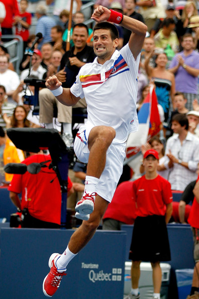 Novak Djokovic - Rogers Cup - Day 7