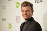 "Singer Nick Carter attends the premiere of Gravitas Ventures' ""Backstreet Boys: Show 'Em What You're Made Of""   at  on January 29, 2015 in Hollywood, California."